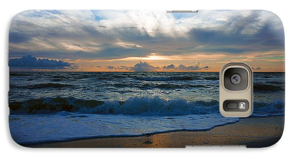 Galaxy Case featuring the photograph Sunset At Delnor-wiggins Pass State Park by Robb Stan