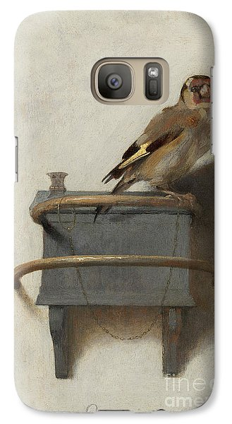 The Goldfinch Galaxy S7 Case
