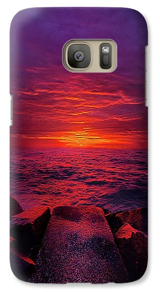 Galaxy Case featuring the photograph The Path by Phil Koch