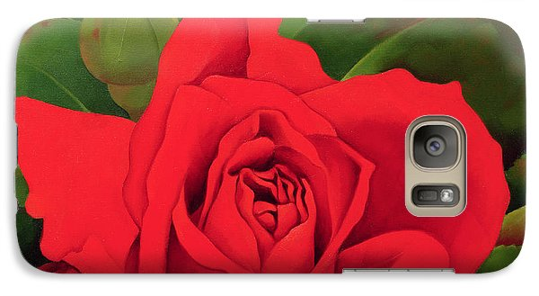 Rose Galaxy S7 Case - The Rose by Myung-Bo Sim