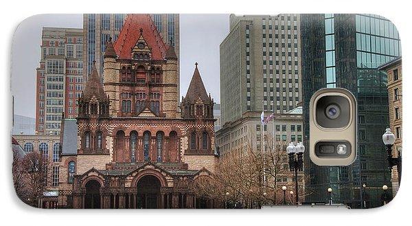 Galaxy Case featuring the photograph Trinity Church - Copley Square - Boston by Joann Vitali