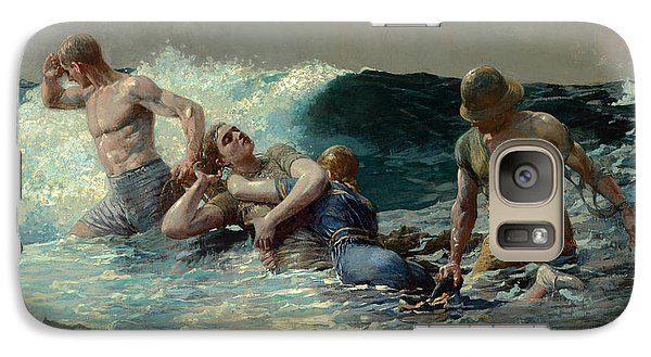 Galaxy Case featuring the painting Undertow by Winslow Homer