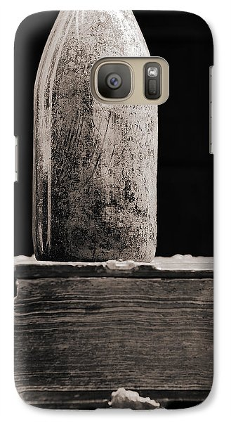Galaxy Case featuring the photograph Vintage Beer Bottle #00803 by Andrey  Godyaykin