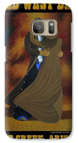 Galaxy Case featuring the painting Wild West Days Poster/print  by Lance Headlee