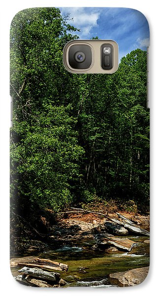 Galaxy Case featuring the photograph Williams River After The Flood by Thomas R Fletcher