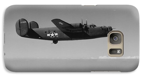 Wwii Us Aircraft In Flight Galaxy S7 Case by American School
