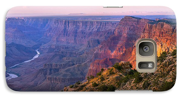 Canyon Glow Galaxy S7 Case by Mikes Nature