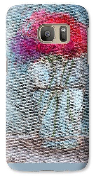 Still Life Galaxy S7 Case - Rcnpaintings.com by Chris N Rohrbach