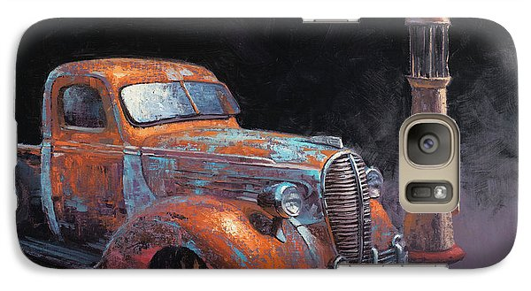 Truck Galaxy S7 Case - 38 Fat Fender Ford by Cody DeLong