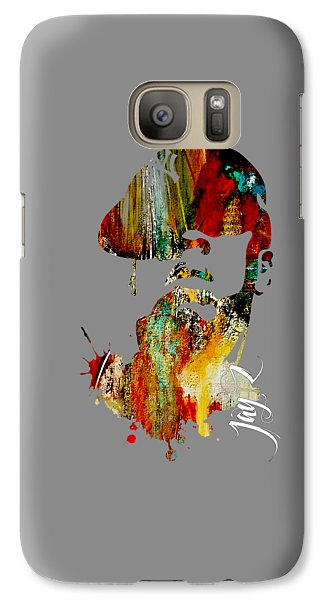 Jay Z Collection Galaxy S7 Case by Marvin Blaine