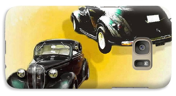 Galaxy Case featuring the photograph '38 Plymouth by Sadie Reneau