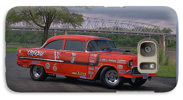 Galaxy Case featuring the photograph 1955 Chevrolet by Tim McCullough