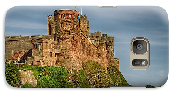 Castle Galaxy S7 Case - Bamburgh Castle by Smart Aviation