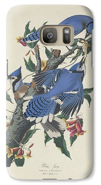 Bluejay Galaxy S7 Case - Blue Jay by Dreyer Wildlife Print Collections