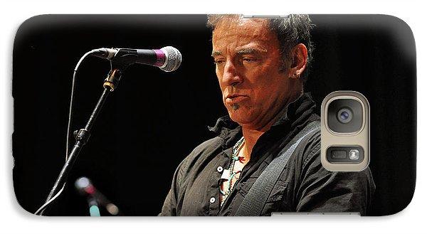 Bruce Springsteen Galaxy S7 Case - Bruce Springsteen by Jeff Ross