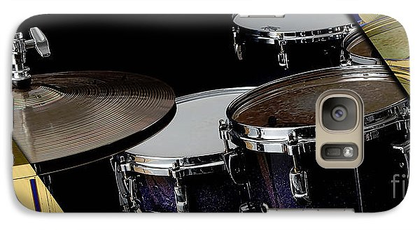 Drums Collection Galaxy Case by Marvin Blaine