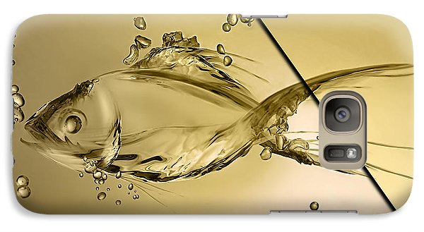 Fish Collection Galaxy Case by Marvin Blaine