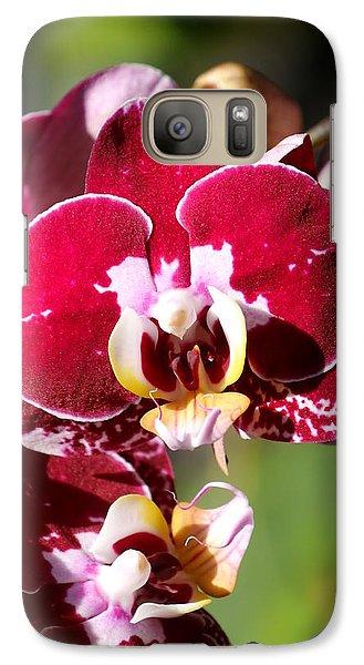Galaxy Case featuring the photograph Flower Edition by Bernd Hau