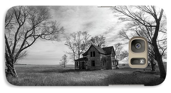 Galaxy Case featuring the photograph Forgotten  by Aaron J Groen