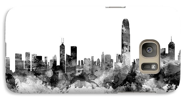 Hong Kong Skyline Galaxy S7 Case by Michael Tompsett