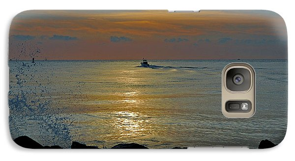 Galaxy Case featuring the photograph 4- Into The Day by Joseph Keane