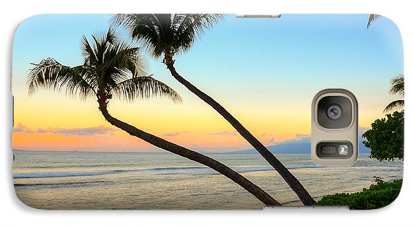 Galaxy Case featuring the photograph Island Sunrise by Kelly Wade