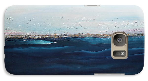 Galaxy Case featuring the painting Jewels Of The Sea by Dolores  Deal