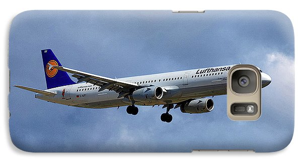 Jet Galaxy S7 Case - Lufthansa Airbus A321-131 by Smart Aviation