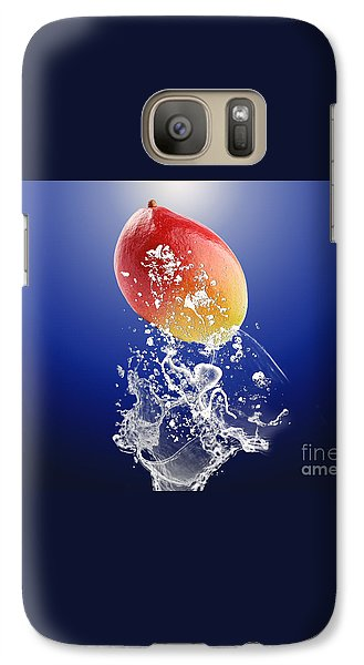 Mango Splash Galaxy Case by Marvin Blaine