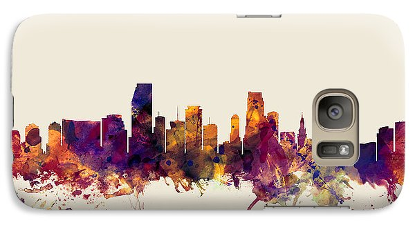 Miami Florida Skyline Galaxy S7 Case