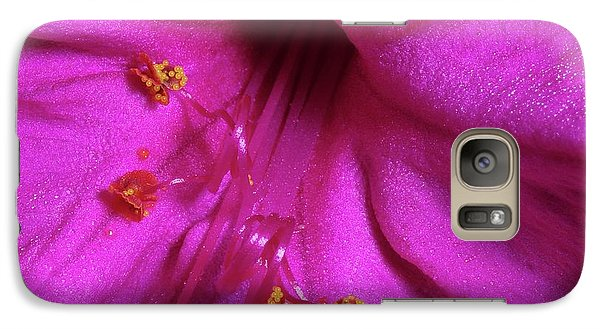 Galaxy Case featuring the photograph 4 O'clock Bloom by Richard Rizzo