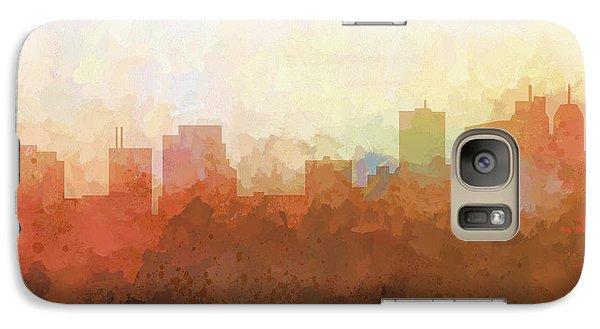 Galaxy Case featuring the digital art Parsippany New Jersey Skyline by Marlene Watson