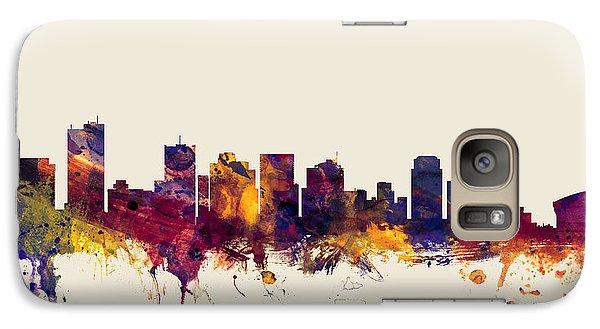 Phoenix Arizona Skyline Galaxy S7 Case by Michael Tompsett