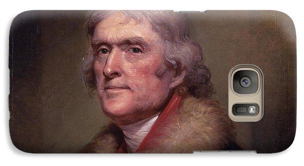 President Thomas Jefferson Galaxy S7 Case