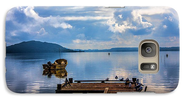 Galaxy Case featuring the photograph Quiet Lake by Rick Bragan