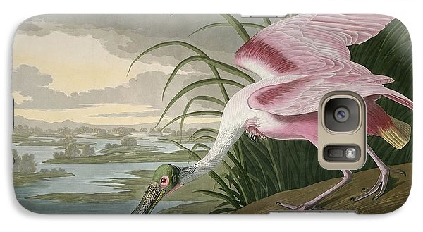 Spoonbill Galaxy S7 Case - Roseate Spoonbill by Dreyer Wildlife Print Collections