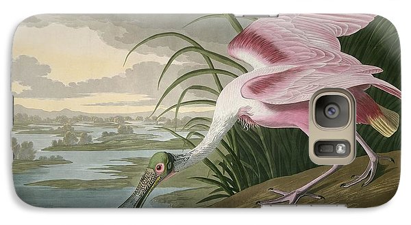 Roseate Spoonbill Galaxy S7 Case by Rob Dreyer