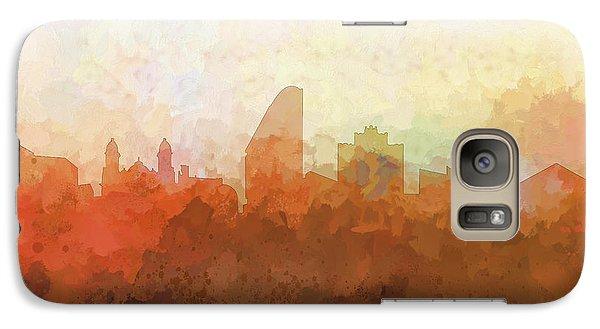 Galaxy Case featuring the digital art San Jose California Skyline by Marlene Watson