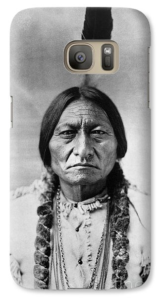 Sitting Bull (1834-1890) Galaxy S7 Case by Granger