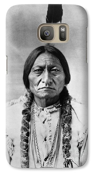 Portraits Galaxy S7 Case - Sitting Bull 1834-1890. To License For Professional Use Visit Granger.com by Granger