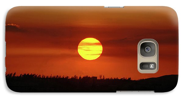 Galaxy Case featuring the photograph 4- Sunset by Joseph Keane