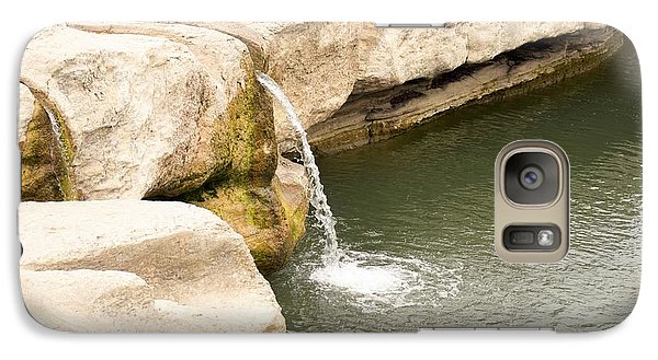 Galaxy Case featuring the photograph Texas - Mckinney Falls State Park  by Ray Shrewsberry