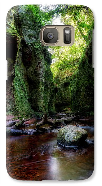 The Devil Pulpit At Finnich Glen Galaxy S7 Case