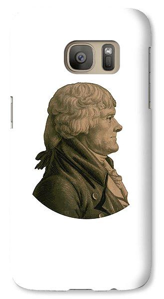 Thomas Jefferson Galaxy S7 Case