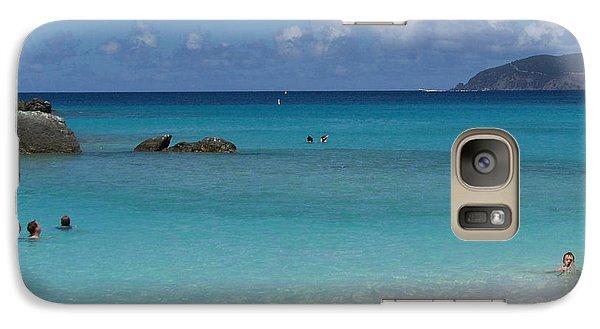 Galaxy Case featuring the photograph Trunk Bay by Carol  Bradley