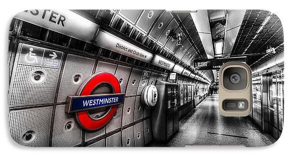 Underground London Galaxy S7 Case by David Pyatt