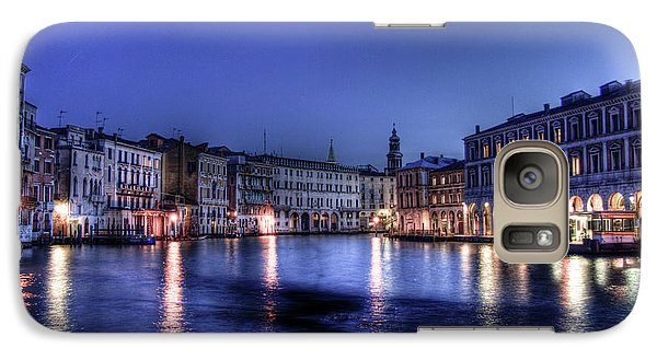 Galaxy Case featuring the photograph Venice By Night by Andrea Barbieri