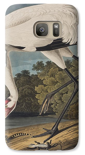 Stork Galaxy S7 Case - Whooping Crane by John James Audubon