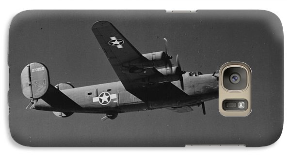 Wwii Us Aircraft In Flight Galaxy S7 Case