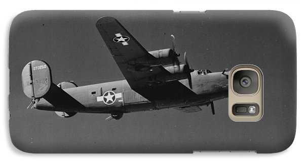 Wwii Us Aircraft In Flight Galaxy Case by American School